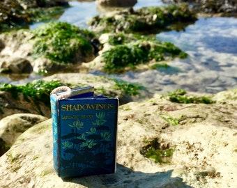 Tiny book of Mermaids, book of ancient mermaids, mermaid book, tiny mermaid book, small mermaid book, silkies, sirens, water nymphs