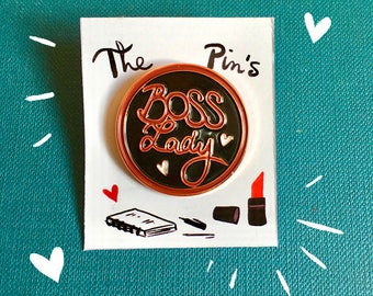 Boss Lady - badges