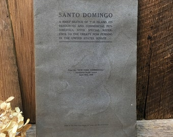 Santo Domingo/Antique Book/1906/From The New York Commercial
