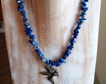 Speak Your Truth Lapis Lazuli Fairie Necklace