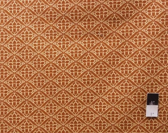 Tina Givens PWTG127 Fortiny Gate Hazelnut Cotton Fabric 1 Yd