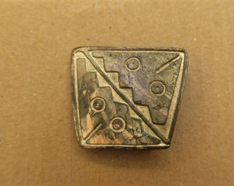 Vintage Abstract Belt Buckle