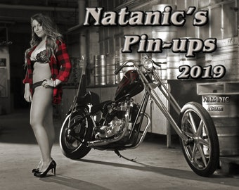 Natanic's Pin-ups 2019 calendar