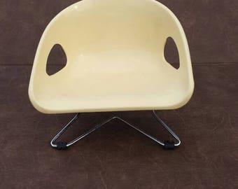 Mid-Century Hamilton Cosco Inc Child's Chair or Booster Seat - 1960's era.