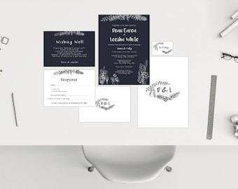 Wedding Package // Navy