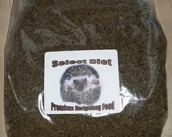 Breeder Recommended 5lb. Bag Select Diet Premium Hedgehog Food - the best choice for your hedgie!