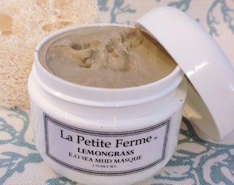 Mud masque with Dead sea Mud - hydrate, tone and renew skin cells face masque - choose your essential oil