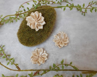 Wheat - 4 cm - sold individually satin flower