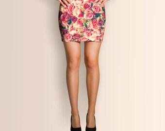 Field of roses, Mini Skirt