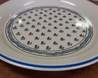 "Sanyei Country Field 12"" Chop Plate Platter"