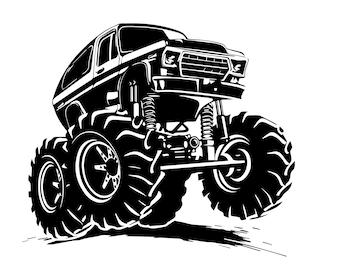 Ford Bronco- Die Cut Vinyl
