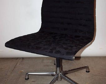 Herman Miller Charles Eames armless Aluminum Group chair