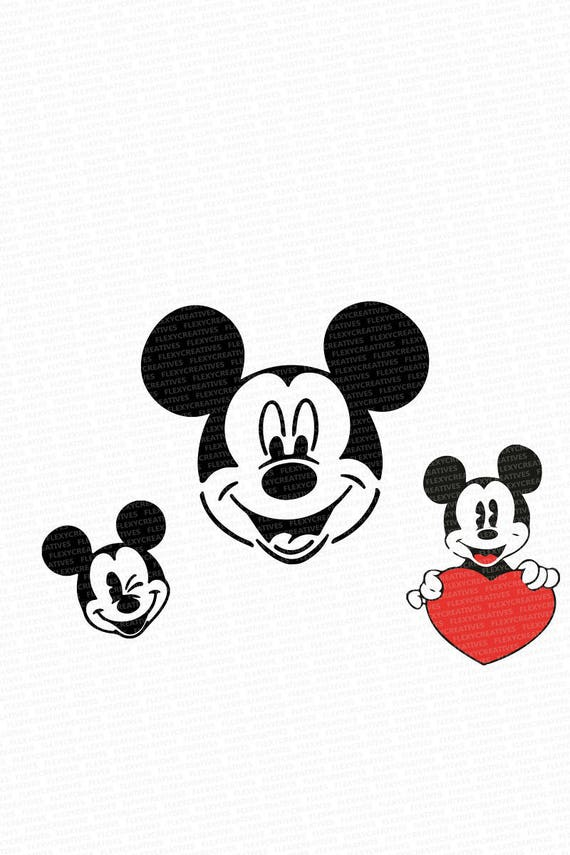 mickey mouse vector clipart cut file micky mouse clip art mickey mouse cricut svg micky maus png dxf pdf eps flexycreatives vc 4 from