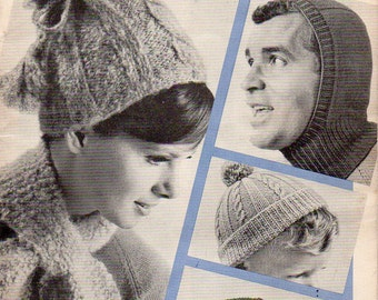 VINTAGE PATTERNS, Beehive Family Headwear and Scarves, Book No. 98, collected by junqueTrunque