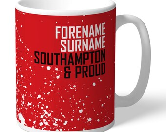Southampton FC Personalised Proud Mug