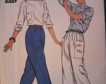 Butterick 4747, Woman's Pants Pattern