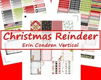 ECV -- Christmas Reindeer Planner Stickers