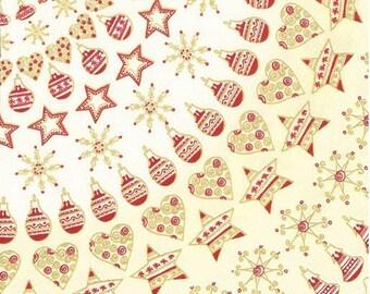 2 Christmas paper napkins (270)