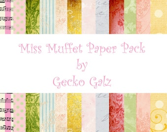 MISS MUFFET Paper Pack