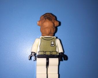 ADMIRAL ACKBAR Star Wars Custom Fleet Commander Movie Minifigure