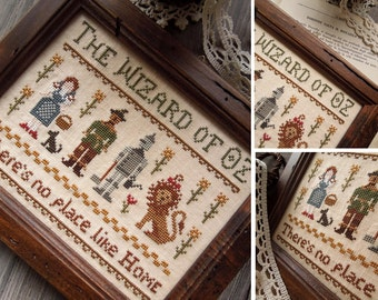 The Wizard of Oz - PDF Digital Cross Stitch Pattern - Fairytale Series