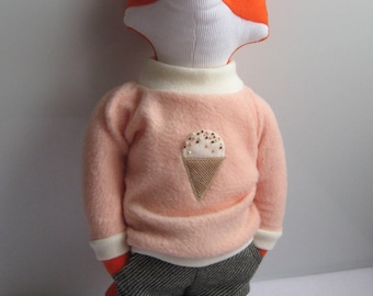 Tommy the Fox. Eco Friendly Plush Toy