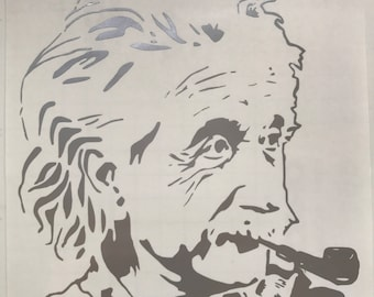 Albert Einstein decal