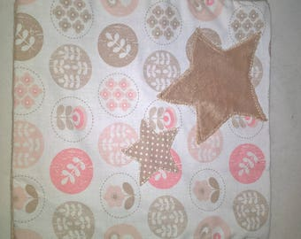 Handmade flat plush 22 x 22 soft