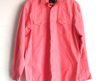 Vintage, Pink Wrangler Shirt