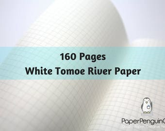 Tomoe River Paper 160 Pages Travelers Notebook Midori Insert Bullet Journal 52 gsm White Tomoegawa Traveler's Notebook Fountain Pen Paper