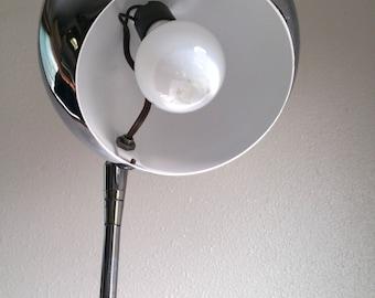 Chrome lamp etsy sonneman mid century modern chrome eyeball floor lamp aloadofball Choice Image