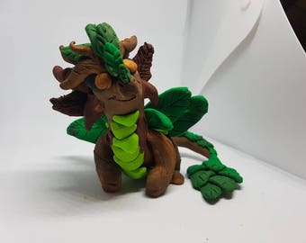Forest Dragon Sculpture