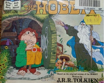 The Hobbit Read Along Book and Record
