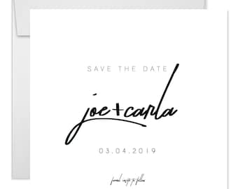 CUSTOM - Save the date invitation