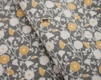 Brushed Cotton Fabric Evening Primrose By The Yard