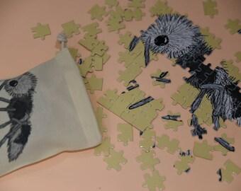 Panda Ant Jigsaw Puzzle - A4 Puzzle - Animal Puzzle - Amazing Animal - Unusual Animal