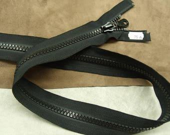 Closure detachable black-75 cm - black