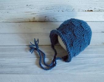 Bonnet - Newborn Bonnet - Vintage Style Bonnet - Baby Bonnet - Lantern - Lantern Bonnet - Newborn Prop - Photo Prop - Newborn -Ready to Ship