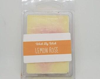 Lemon Rose Scented Soy Wax Melt