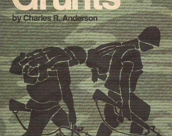 ISBN 0891410031 The Grunts by Charles R. Anderson 1976 Hardback Illustrated 5th Printing 1984 Near New Condition Marines Eye View of Vietmam