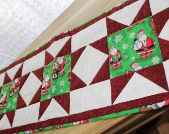 Santa and Friends Table Runner