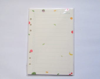 Fruity Print Planner Refill To-Do List Paper