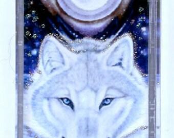 White Wolf Leap Pendant