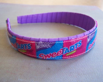 Sweetarts Candy Wrapper Headband-child teenager