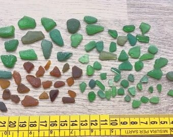 Polished glass-Sea glass-3-25 mm
