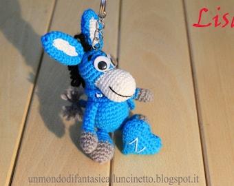 Mascotte Napoli Calcio Mule crochet