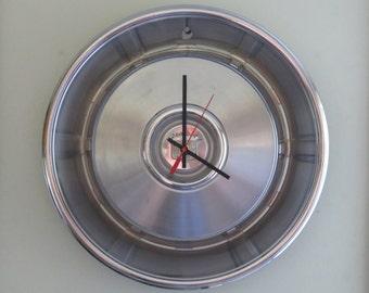 1966-67 Cadillac Hubcap Clock - Item 2631