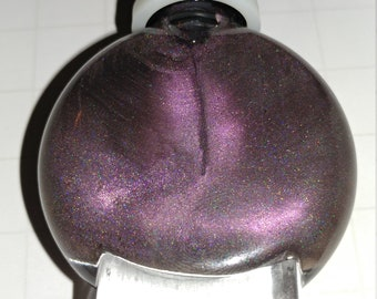 moonlit - a purple hidden holo polish for dark and stormy nights