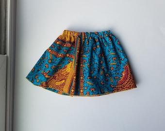Ankara Baby and Girls Skirt
