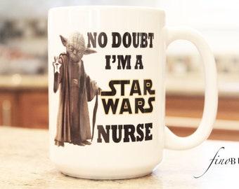 Star wars, Nurse Mug, Star Wars Nurse, Mug